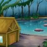 cabana da floresta