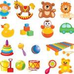 objetos e brinquedos