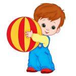 menino com bola