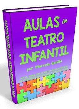 Livro Aulas de Teatro Infantil