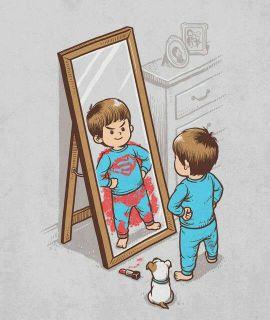 menino no espelho