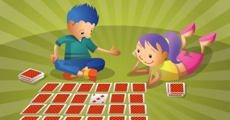 crianças jogando