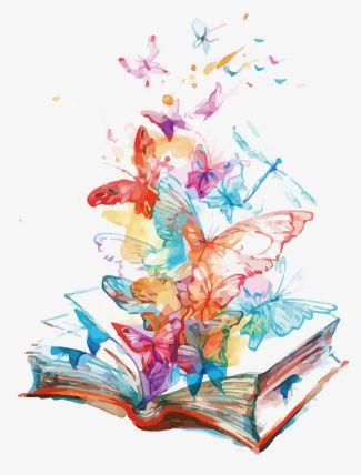 borboletas saindo do livro