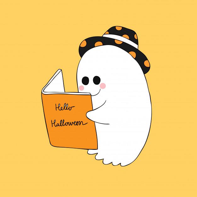 fantasma lendo